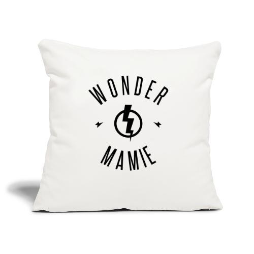 WONDER MAMIE - Housse de coussin décorative 45x 45cm