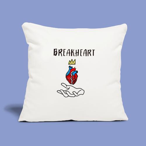BREAKHEARTH - Copricuscino per divano, 45 x 45 cm