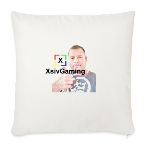 xsivgaming face - Sofa pillowcase 17,3'' x 17,3'' (45 x 45 cm)