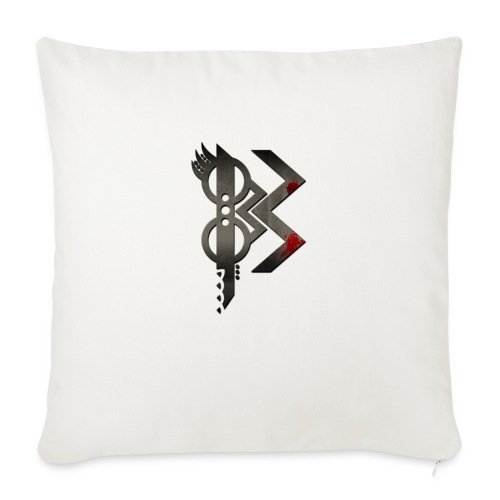 viking lettre B - Housse de coussin décorative 45x 45cm