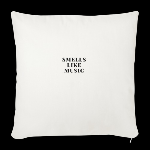 smells like music - Sierkussenhoes, 45 x 45 cm