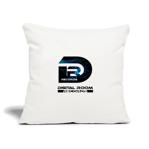 Digital Room Records Official Logo effect - Sofa pillowcase 17,3'' x 17,3'' (45 x 45 cm)