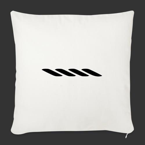Rope With Bite Logo - Sofa pillowcase 17,3'' x 17,3'' (45 x 45 cm)