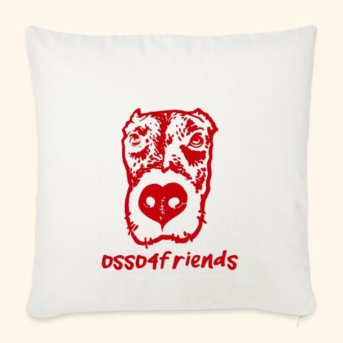 Logo ROSSO TRASPARENTE creative - Copricuscino per divano, 45 x 45 cm