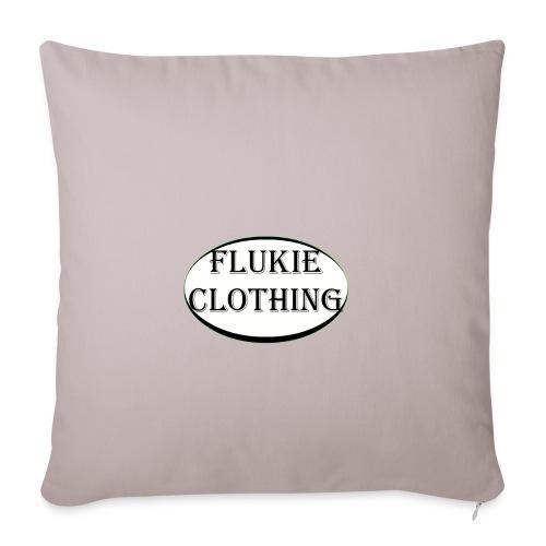 White Logo - Sofa pillowcase 17,3'' x 17,3'' (45 x 45 cm)