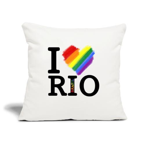 I love Rio - Funda de cojín, 45 x 45 cm