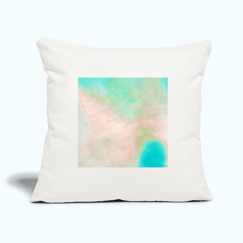 Atoll beach watercolor beige nature - Sofa pillowcase 17,3'' x 17,3'' (45 x 45 cm)