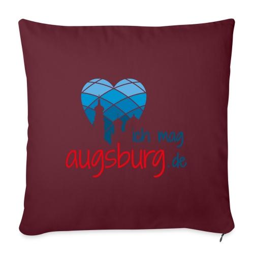 ichmagaugsburg logo - Sofakissenbezug 44 x 44 cm