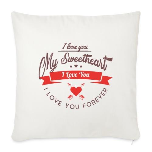 my sweetheart - Poszewka na poduszkę 45 x 45 cm