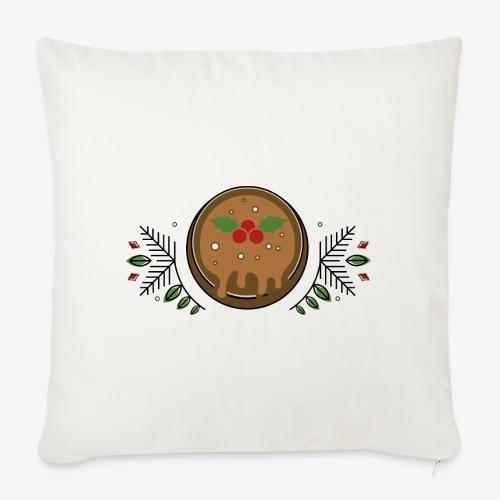 CHRISTMAS PUDDING - Sofa pillowcase 17,3'' x 17,3'' (45 x 45 cm)