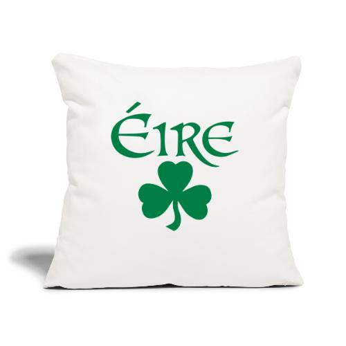 Eire Shamrock Ireland logo - Sofa pillowcase 17,3'' x 17,3'' (45 x 45 cm)