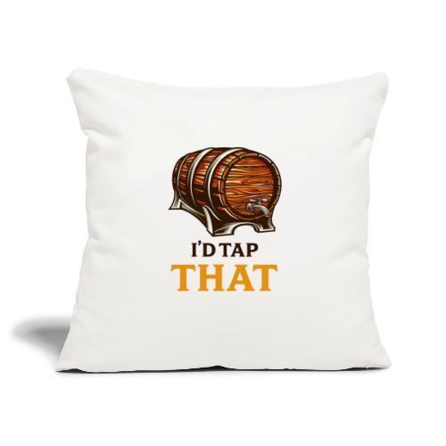 Beer / beer keg fan - gift idea - Sofa pillowcase 17,3'' x 17,3'' (45 x 45 cm)
