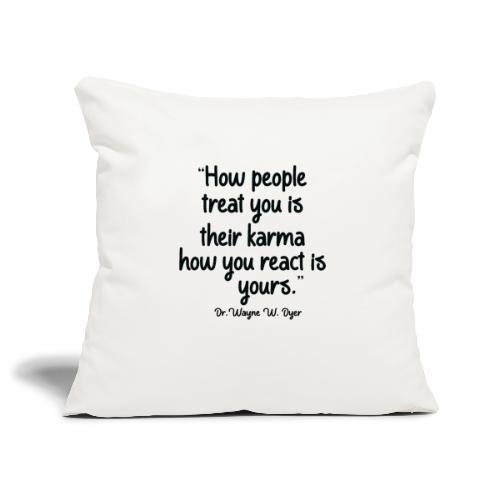 Karma - Sofa pillowcase 17,3'' x 17,3'' (45 x 45 cm)