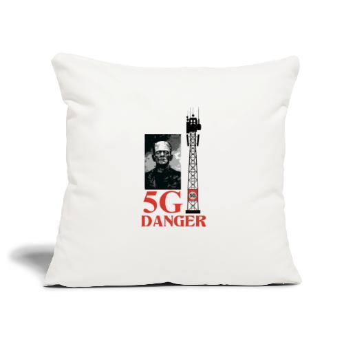 5 G DANGER - Sofa pillowcase 17,3'' x 17,3'' (45 x 45 cm)