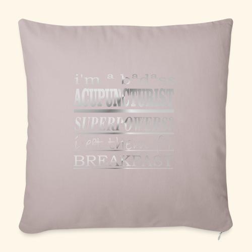 ACUPUNCTURIST - Copricuscino per divano, 45 x 45 cm