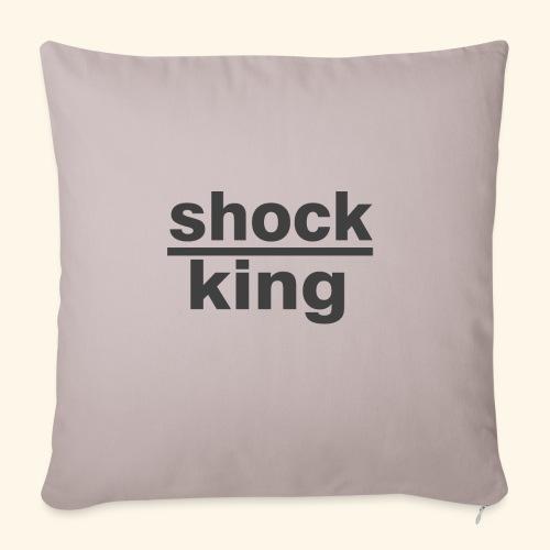 shock king funny - Copricuscino per divano, 45 x 45 cm