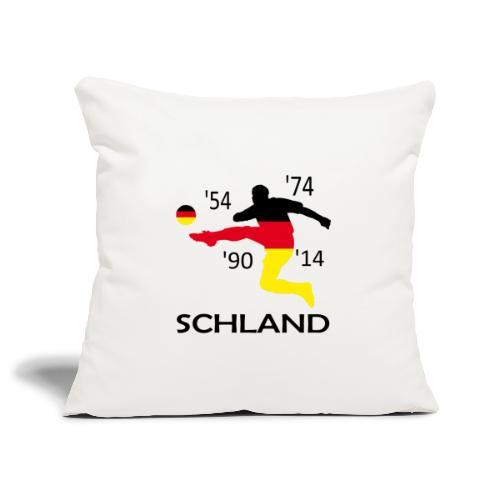 Deutschland 2018 WM - Sofakissenbezug 44 x 44 cm