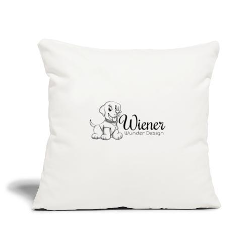Wiener Wunder Hund - Sofakissenbezug 44 x 44 cm