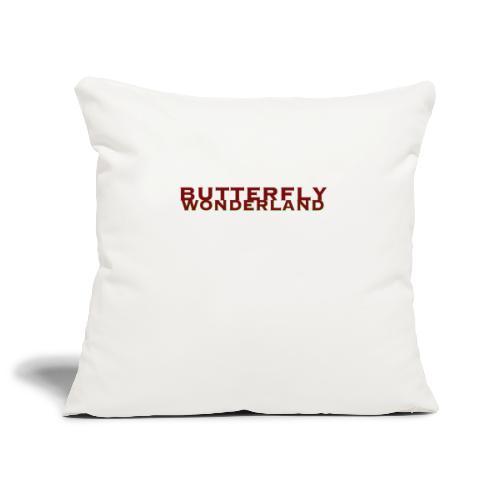 Butterfly Wonderland - Sofakissenbezug 44 x 44 cm