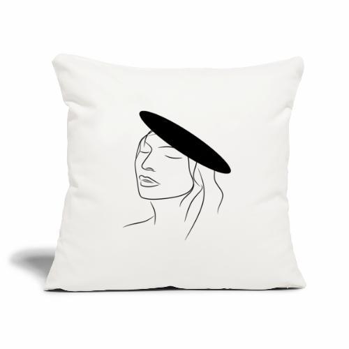Women - Sofa pillowcase 17,3'' x 17,3'' (45 x 45 cm)