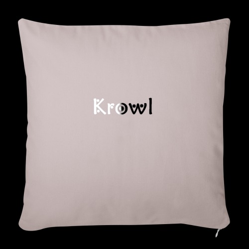 Krowl 1st Yin & Yang Design - Housse de coussin décorative 45x 45cm
