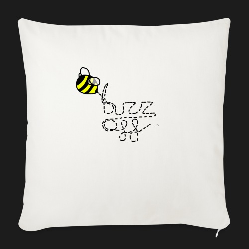 buzz off - Sofa pillowcase 17,3'' x 17,3'' (45 x 45 cm)