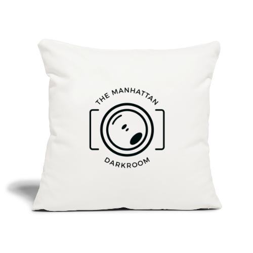 THE MANHATTAN DARKROOM photo - Housse de coussin décorative 45 x 45 cm