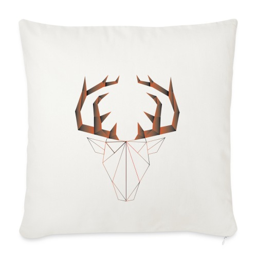 LOW ANIMALS POLY - Housse de coussin décorative 45 x 45 cm