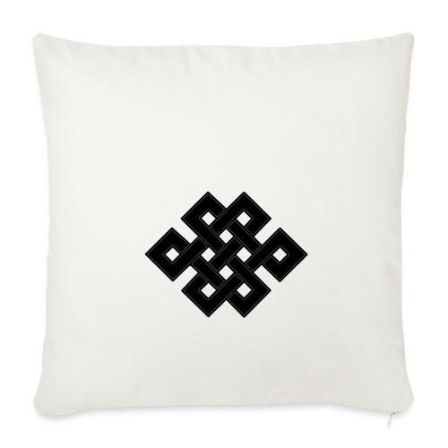 nodo buddha - Copricuscino per divano, 45 x 45 cm