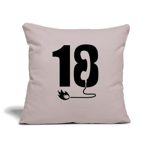 18 - Housse de coussin décorative 45x 45cm
