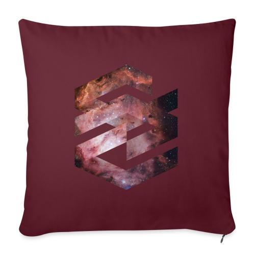 Geometische Galaxie Form - Sofakissenbezug 44 x 44 cm