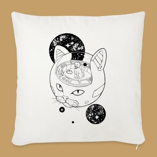 Kosmiczny Kot Imperator - Poszewka na poduszkę 45 x 45 cm