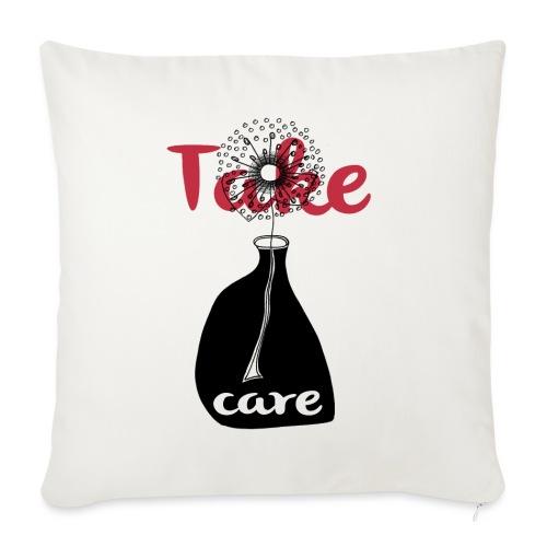 take_care - Copricuscino per divano, 45 x 45 cm