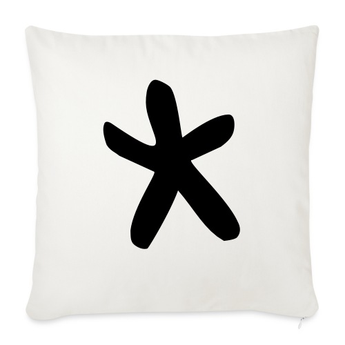 Wills Cwtch Hoodie, with a star on the front and - Sofa pillowcase 17,3'' x 17,3'' (45 x 45 cm)