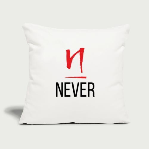 Never Give Up - Deundria Clark - Sofa pillowcase 17,3'' x 17,3'' (45 x 45 cm)