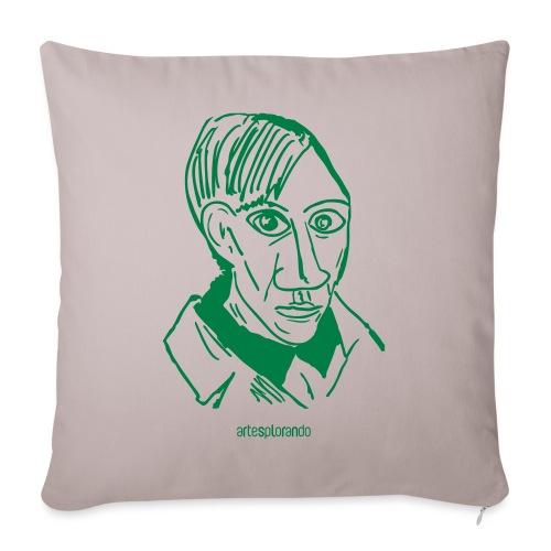 Picasso, autoritratto - Copricuscino per divano, 45 x 45 cm