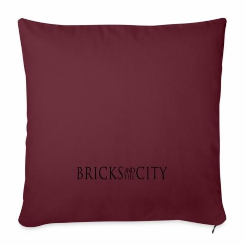 Bricks and the City (white style) - Copricuscino per divano, 45 x 45 cm