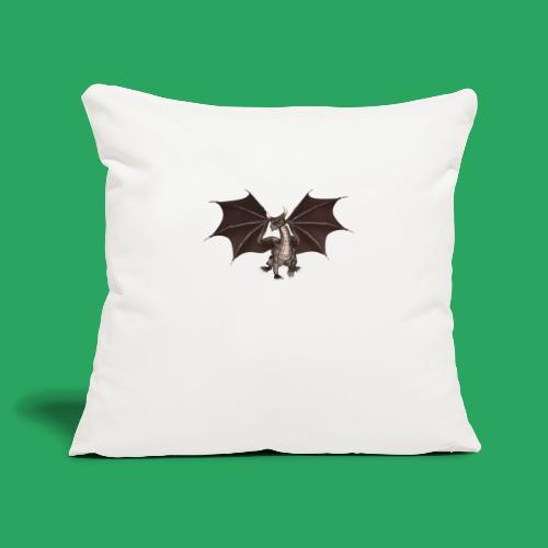 dragon logo color - Copricuscino per divano, 45 x 45 cm