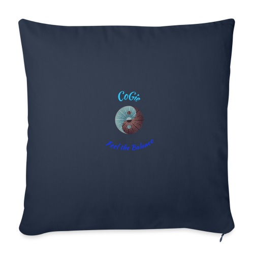 CoGie, Feel the Balance - Sofa pillowcase 17,3'' x 17,3'' (45 x 45 cm)