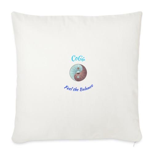 CoGie, Feel the Balance - Sofa pillowcase 17,3'' x 17,3'' (45 x 45 cm)