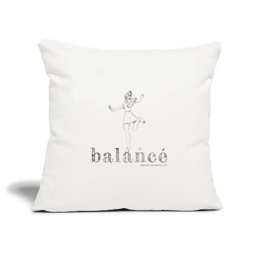 balancé - Sofa pillowcase 17,3'' x 17,3'' (45 x 45 cm)
