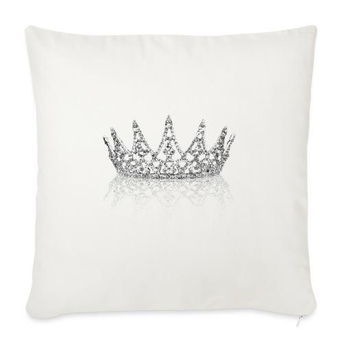 Queen Crown design - Sofa pillowcase 17,3'' x 17,3'' (45 x 45 cm)