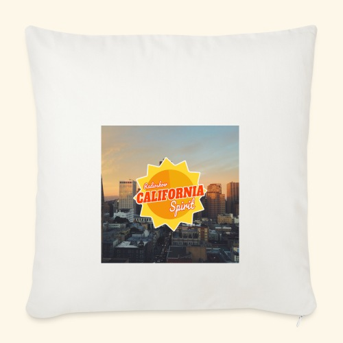California Spirit City - Housse de coussin décorative 45 x 45 cm