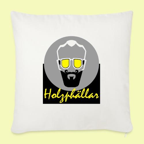 Holzphällar Logo - Sofakissenbezug 44 x 44 cm