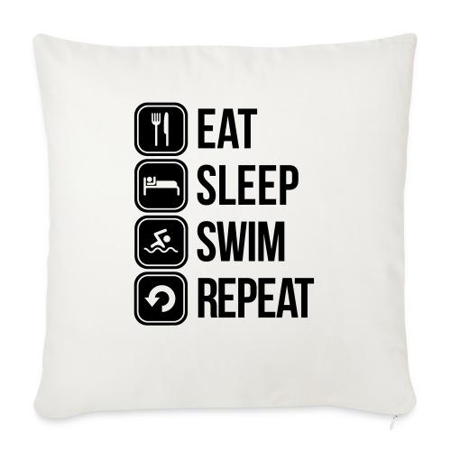 zwemmen - Sierkussenhoes, 45 x 45 cm