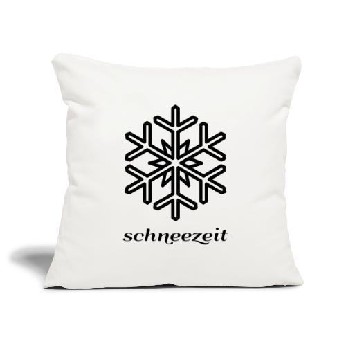 Schneeflocke - Sofakissenbezug 44 x 44 cm