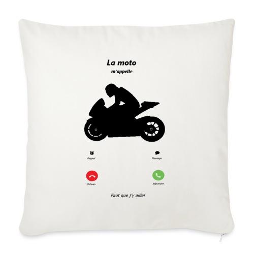 Ma moto m'appelle - Housse de coussin décorative 45x 45cm