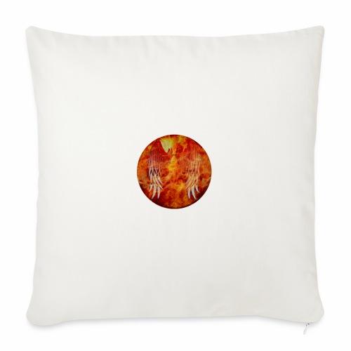 Fire and Fuego - Copricuscino per divano, 45 x 45 cm