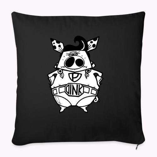 super oink - Copricuscino per divano, 45 x 45 cm