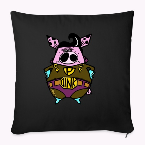 super oink col - Copricuscino per divano, 45 x 45 cm